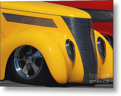 Yellow '37 Metal Print by Dennis Hedberg