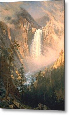 Yellowstone Metal Print by Albert Bierstadt