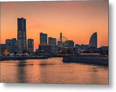 Yokohama 03 Metal Print by Tom Uhlenberg