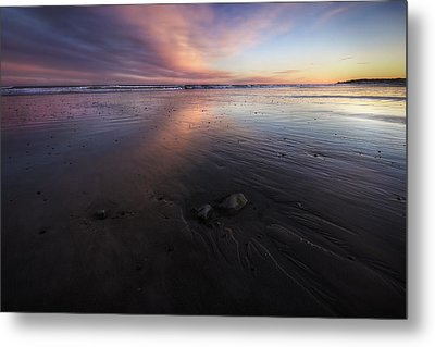 York Beach Metal Print by Eric Gendron