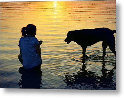 You And Me Metal Print by Laura Fasulo