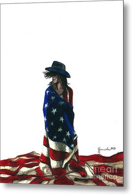You Find Freedom Inside Metal Print by J Ferwerda