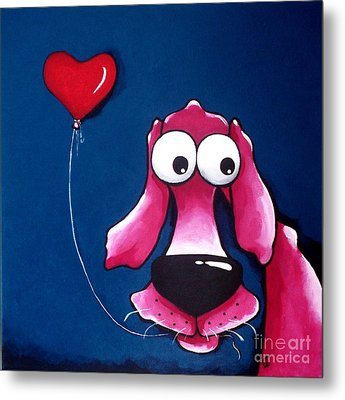 You Have My Heart Metal Print by Lucia Stewart