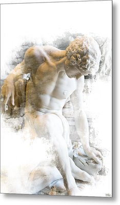 Young Man Metal Print by Evie Carrier