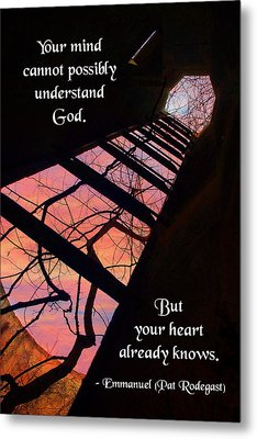 Your Mind Cannot Understand Metal Print by Mike Flynn