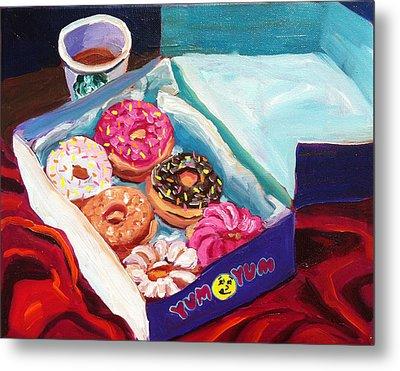 Yum Yum Donuts Metal Print by Sean Boyce