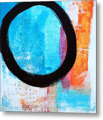 Zen Abstract #32 Metal Print by Linda Woods