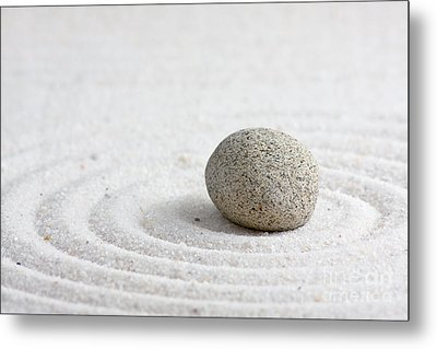 Zen Garden Metal Print by Shawn Hempel