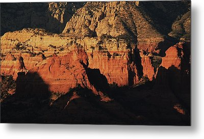 Zen Moment In Sedona Metal Print by Todd Sherlock
