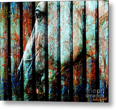 Zeniah Variation 11 Metal Print by Judy Wood