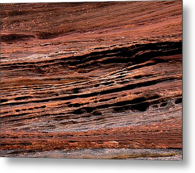 Zion Red Rock Metal Print by Rona Black