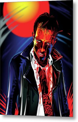 Zombie Rezurrection Metal Print by Brian Gibbs