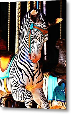 Zoo Animals 3 Metal Print by Marty Koch