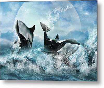 Forever Metal Print by Trudi Simmonds
