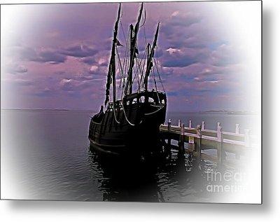 Notorious The Pirate Ship 5 Metal Print by Blair Stuart