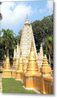 Stupa  Metal Print by Panyanon Hankhampa