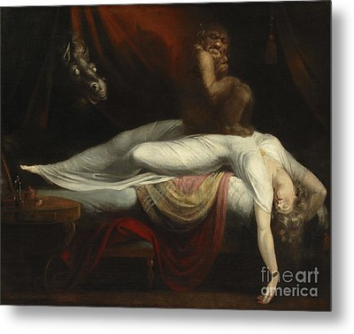 The Nightmare Metal Print by Henry Fuseli