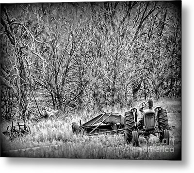 Tractor Days Metal Print by Michelle Frizzell-Thompson