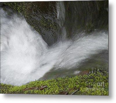 Waterfall Metal Print by Odon Czintos