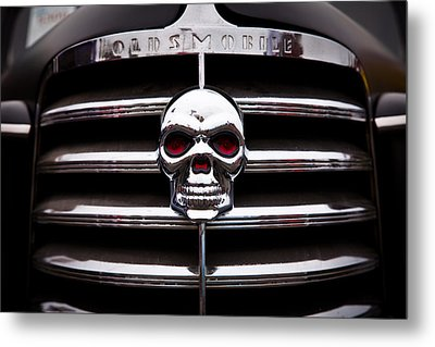 1938 Oldsmobile Business Coupe Metal Print by David Patterson