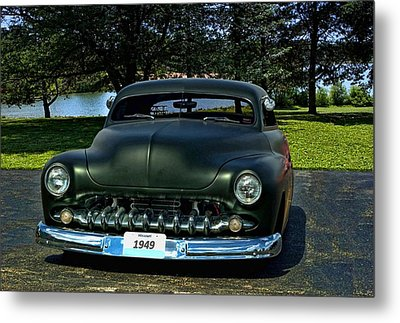 1949 Mercury Lead Sled Metal Print by Tim McCullough