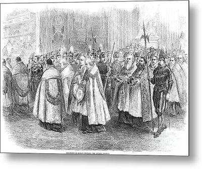 1st Vatican Council, 1869 Metal Print by Granger