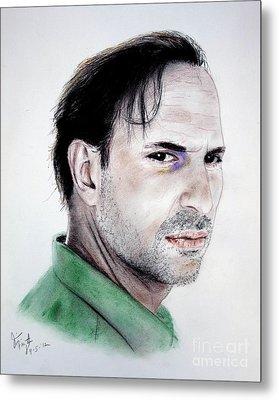 Actor Oscar Torre Metal Print by Jim Fitzpatrick