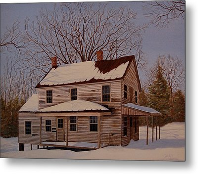 After The Storm Metal Print by AnnaJo Vahle