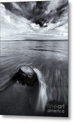 Against The Tides Metal Print by Mike  Dawson