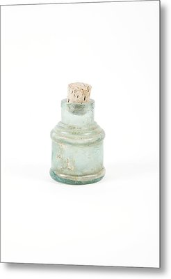 Antique Bottle Metal Print by Gregory Davies, Medinet Photographics
