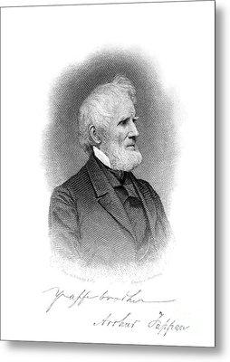 Arthur Tappan (1786-1865) Metal Print by Granger