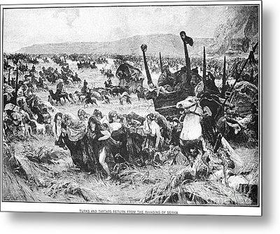Balkan Insurgency, 1876 Metal Print by Granger
