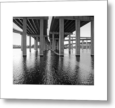Baltimore By-pass Metal Print by Brian Wallace