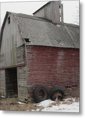 Barn-25 Metal Print by Todd Sherlock