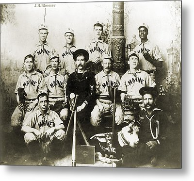 Baseball Team, C1898 Metal Print by Granger