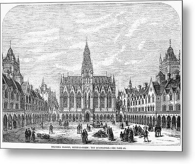 Bethnal Green Market, 1869 Metal Print by Granger