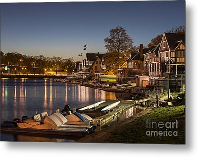 Boathouse Row Metal Print by John Greim