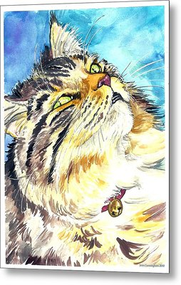 Butters Metal Print by Jenn Cunningham