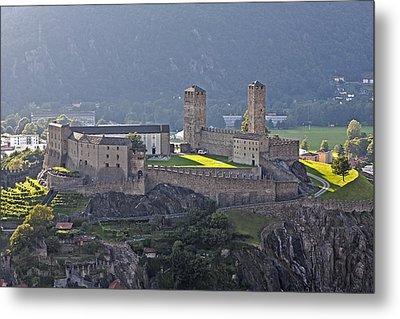 Castel Grande - Bellinzona Metal Print by Joana Kruse