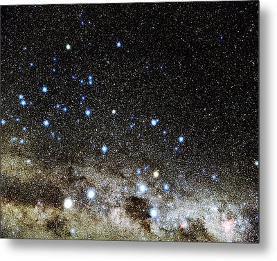 Centaurus And Crux Constellations Metal Print by Eckhard Slawik
