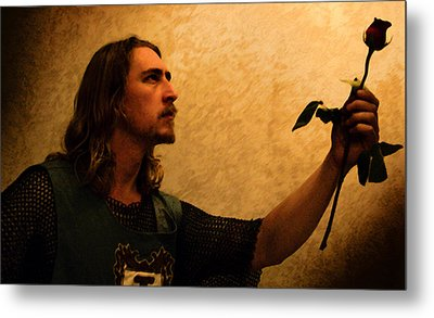 Chivalry Metal Print by Christopher Gaston