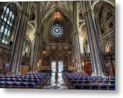Church Of England Metal Print by Adrian Evans