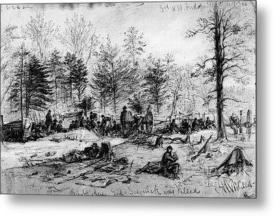 Civil War: Spotsylvania Metal Print by Granger