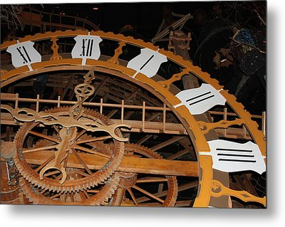 Clock Work Metal Print by Mike Stouffer