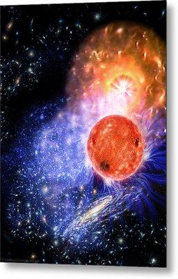 Cosmic Evolution Metal Print by Don Dixon