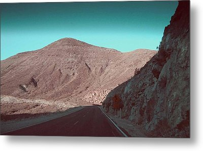 Death Valley Road 2 Metal Print by Naxart Studio