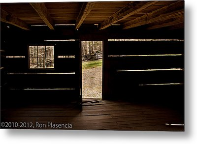 Doorway To The Past Metal Print by Ron Plasencia