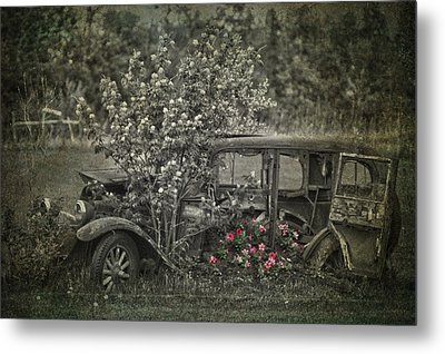 Driven To Find Love  Metal Print by Jerry Cordeiro