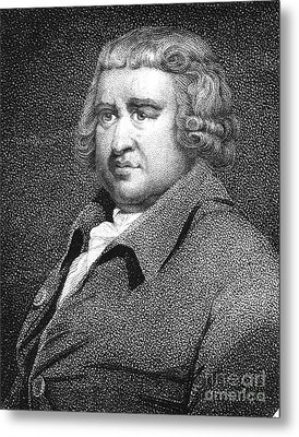 Erasmus Darwin, English Polymath Metal Print by Science Source