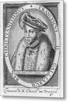Francis II (1544-1560) Metal Print by Granger